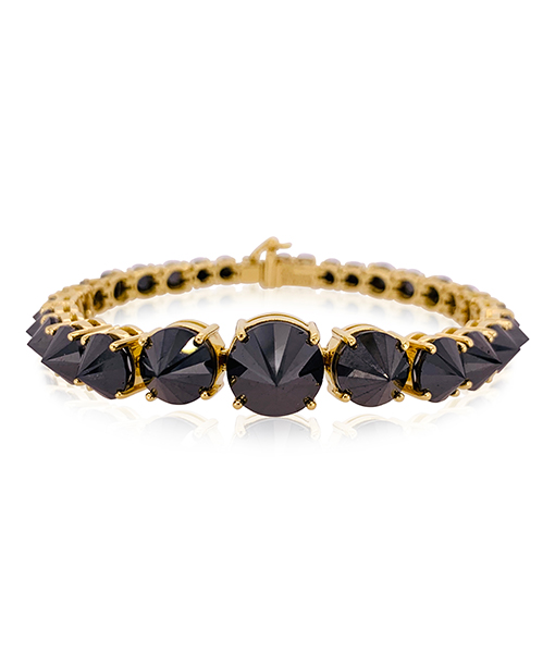Ara Vartanian Inverted Black Diamond Bracelet