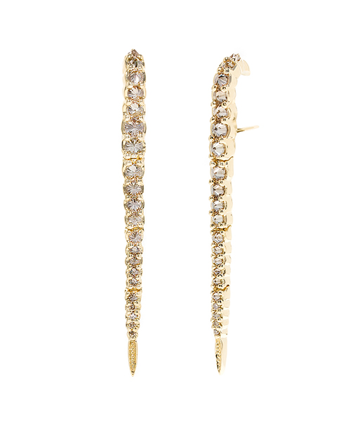 Ara Vartanian Brown Diamond Earrings