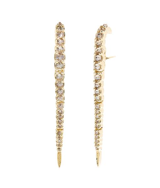 Ara Vartanian Brown Diamond Earrings