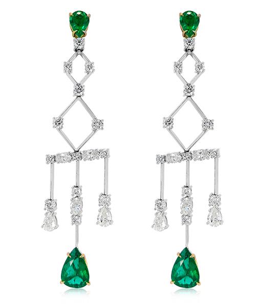 Ara Vartanian Chandelier Earrings
