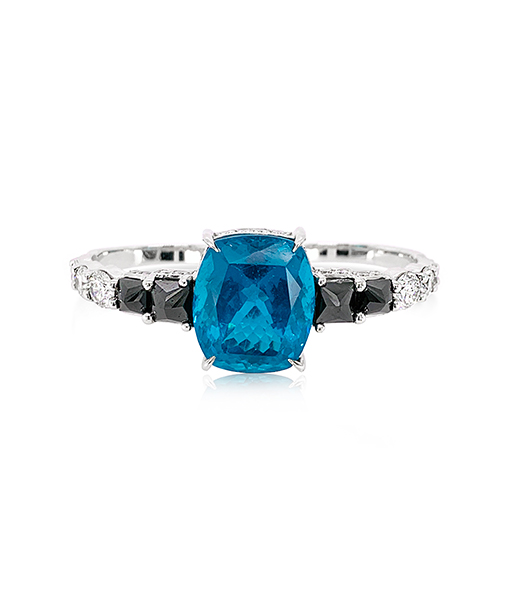 Ara Vartanian Two Finger Apatite Diamond Ring