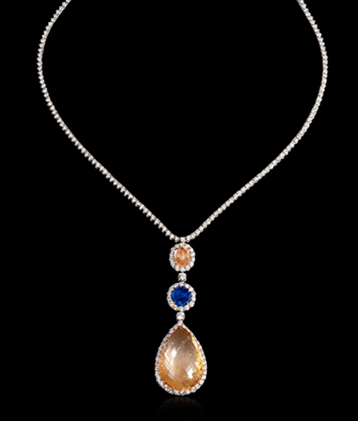 Bayco Sapphire Necklace