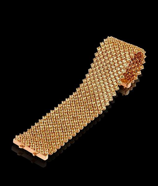 Bayco Yellow Sapphire Bracelet