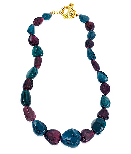 Cayen Collection Tourmaline bead Necklace #