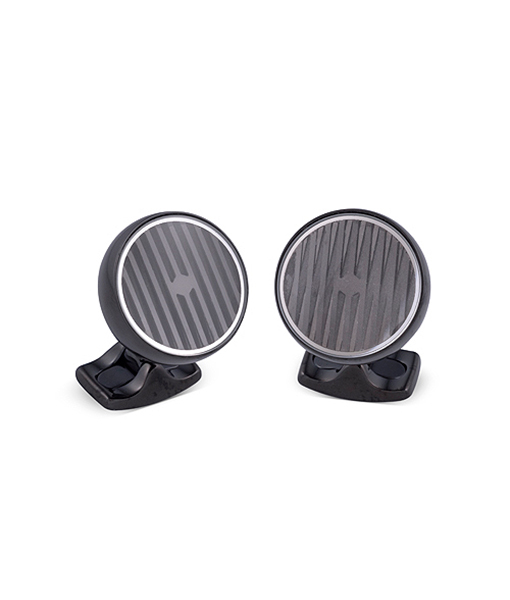Deakin & Francis Kinetic Black Cufflink