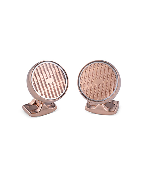 Deakin & Francis Kinetic All Rose Cufflinks