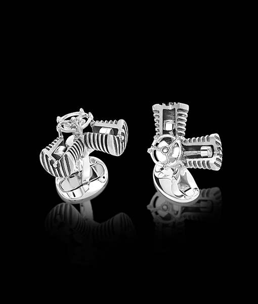 Deakin & Francis Piston Cufflinks