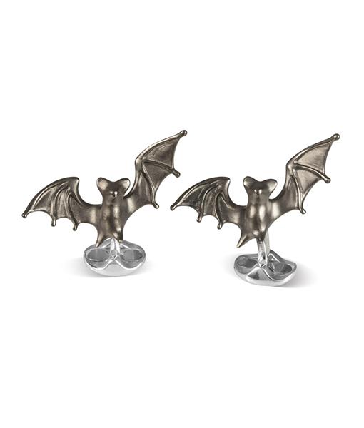 Deakin & Francis Black Bat Spring Cufflink