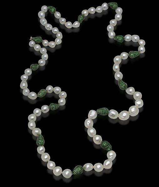 Cayen Collection Opera St.S.Sea Baroque Tsavorite Balls