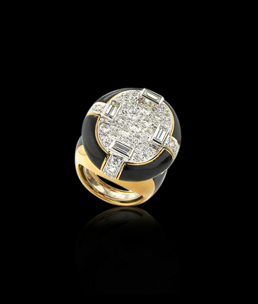 David Webb Brilliant-cut Diamond Ring
