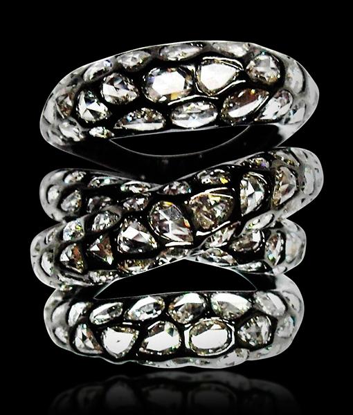 Etho Maria Diamond Inlay Ring