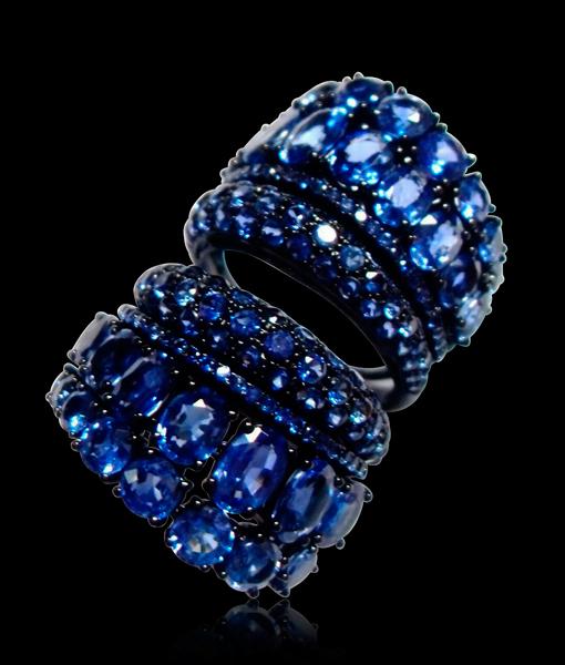 Etho Maria Blue Sapphire Ring
