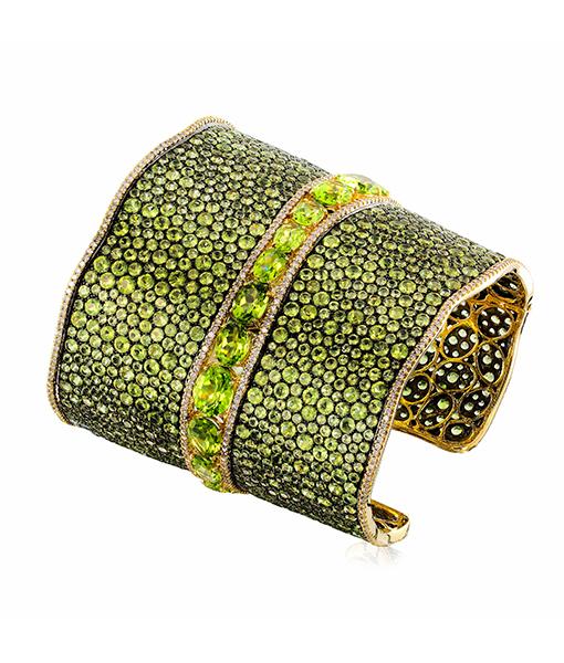 Etho Maria Blue topaz Diamond Bracelet