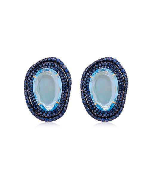 Etho Maria Blue Topaz Sapphire Ring