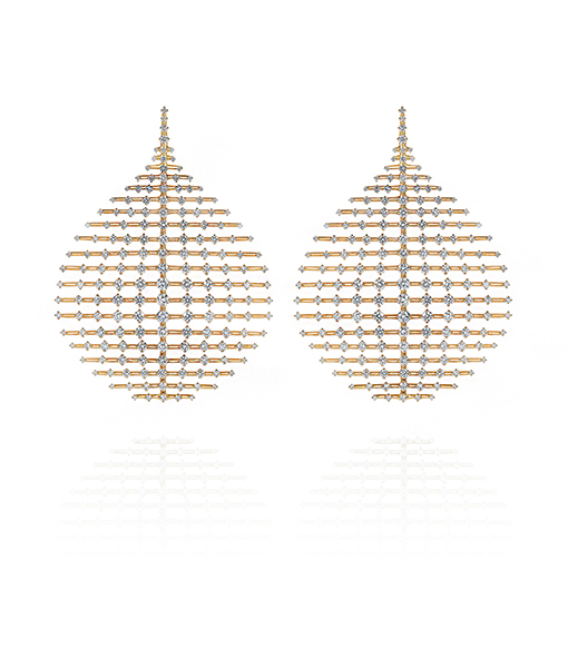 Fernando Jorge Disco Diamond Earrings