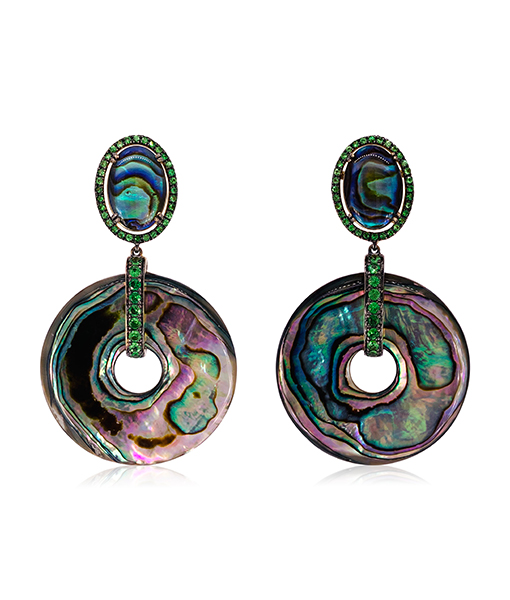 Goshwara Abalone Shell Earrings #