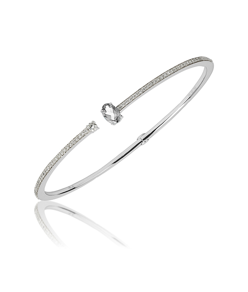 Hueb Diamond Bangle
