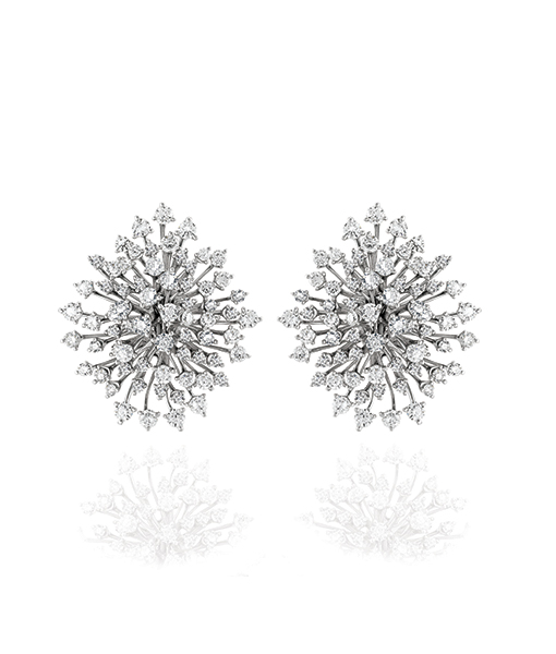 Hueb Luminus Diamond Earrings