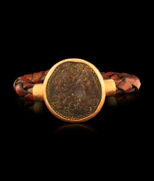 Jorge Adeler Zeus Coin Bracelet