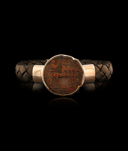 Jorge Adeler Commodus Coin Bracelet