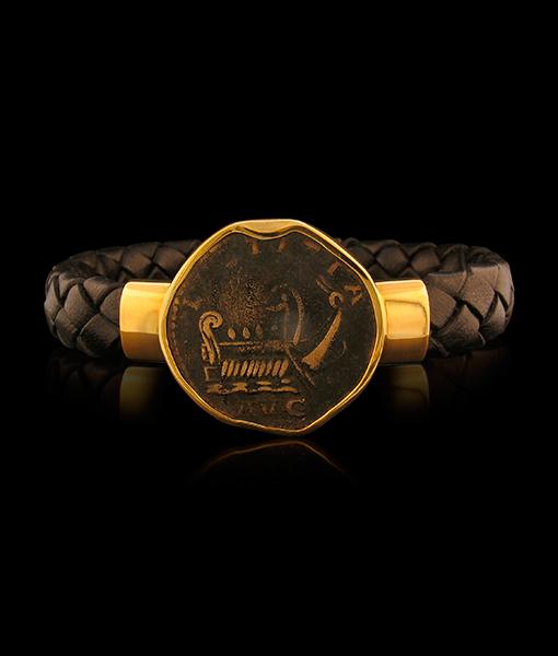 Jorge Adeler Roman Galley Coin Bracelet