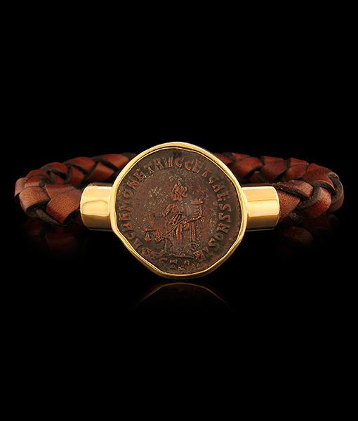Jorge Adeler Moneta Coin Bracelet