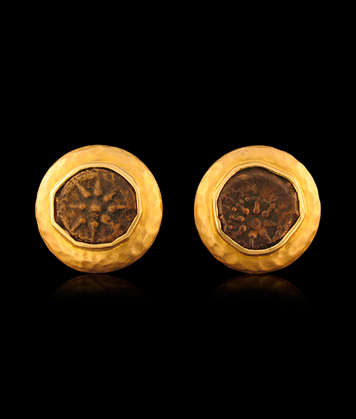 Jorge Adeler Authentic Charity Coin Cufflinks