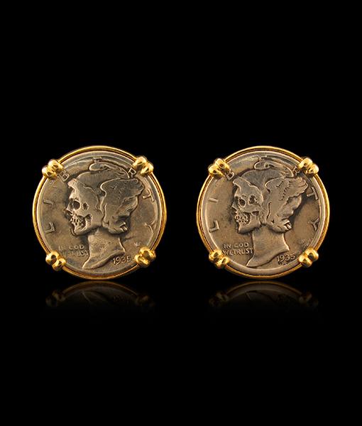 Jorge Adeler Hobo Coin Cufflinks
