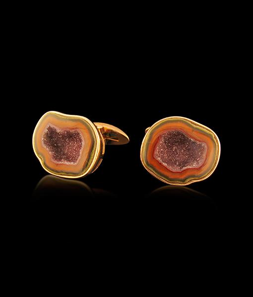 Jorge Adeler Geode Cufflinks