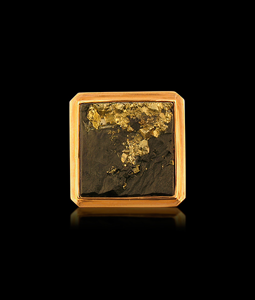 Jorge Adeler Pyratized Slate Ring