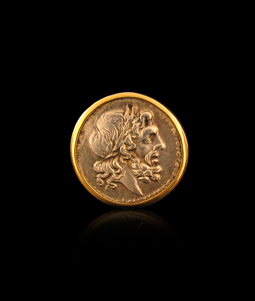 Jorge Adeler Jupiter Coin Ring