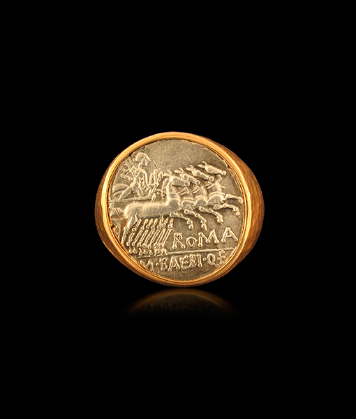 Jorge Adeler Apollo Coin Ring