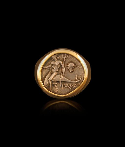 Jorge Adeler Taras Coin Ring