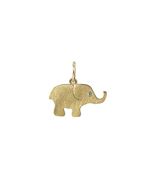 Julez Bryant Ello Elephant Pendant