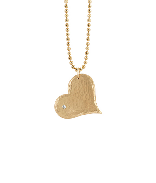 Julez Bryant Heart Pendant Diamond Chain