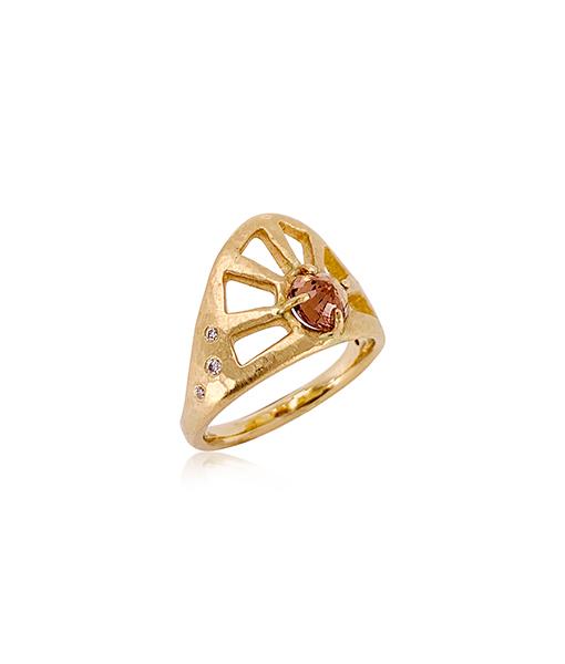 Julez Bryant Sapphire Diamond Ring
