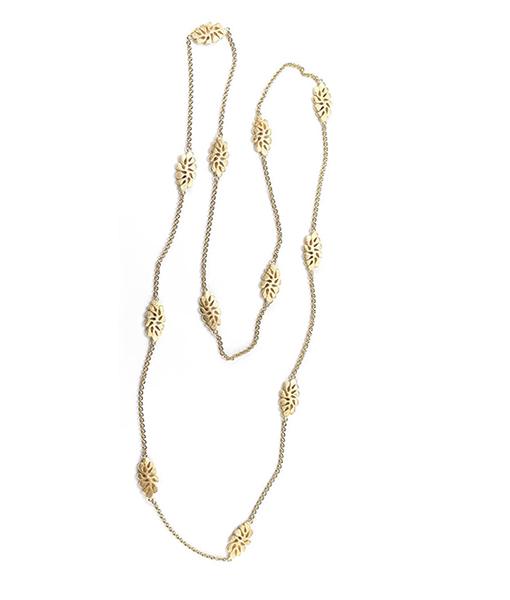 Miseno Sea Leaf Necklace