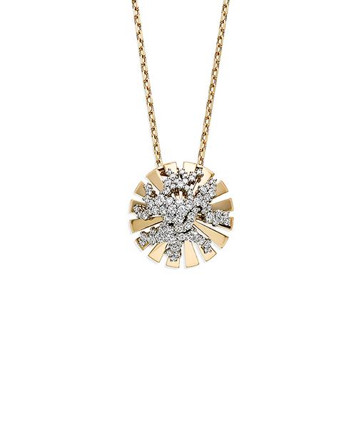 Miseno Vesuvio Necklace Diamonds