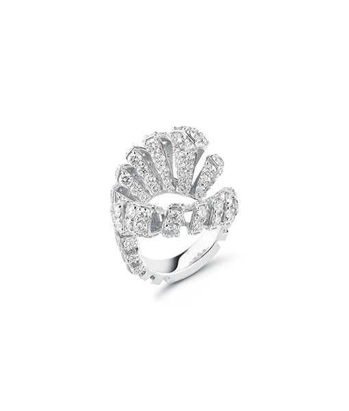 Miseno Ventaglio Diamond Ring