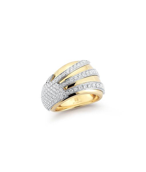 Miseno Raggi Diamond Ring Sunrise