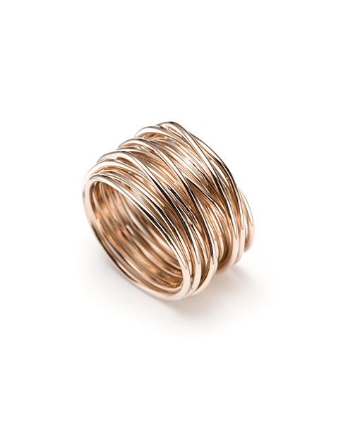 Mattioli Endless Cord Tibet Ring