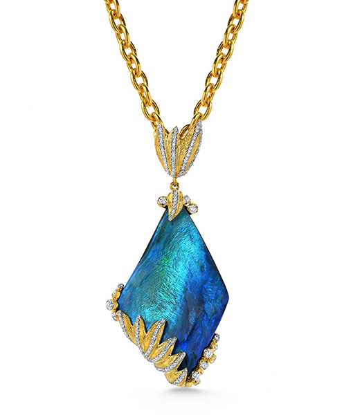 Victor Velyan Opal Necklace #