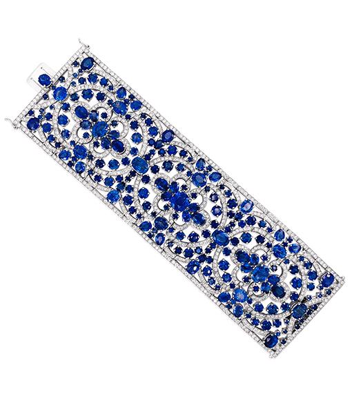 Nini Blue Sapphire Diamond Bracelet