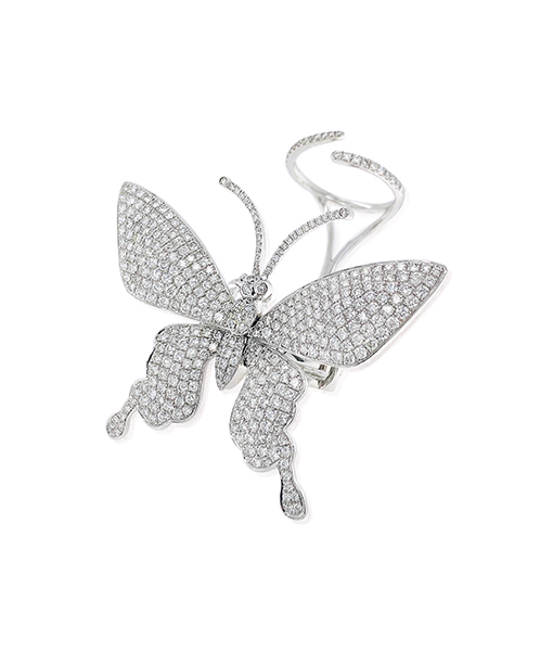 Nini Butterfly Diamond Ring