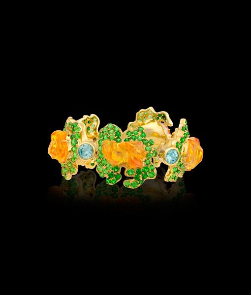 Paula Crevoshay Queen Tiye's Amulet Bracelet
