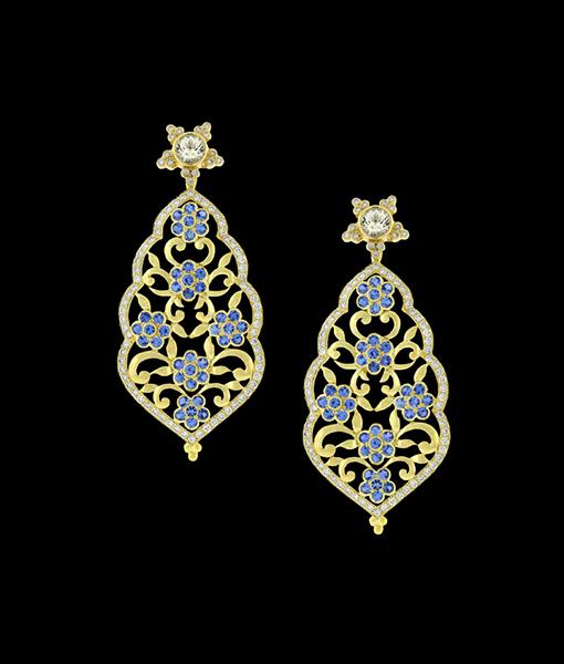 Paula Crevoshay Tourmaline Earrings