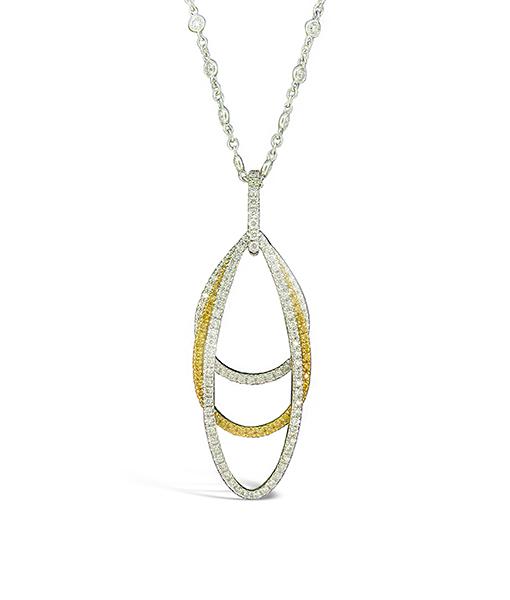Gregg Ruth Diamond Pendant Diamond Necklace