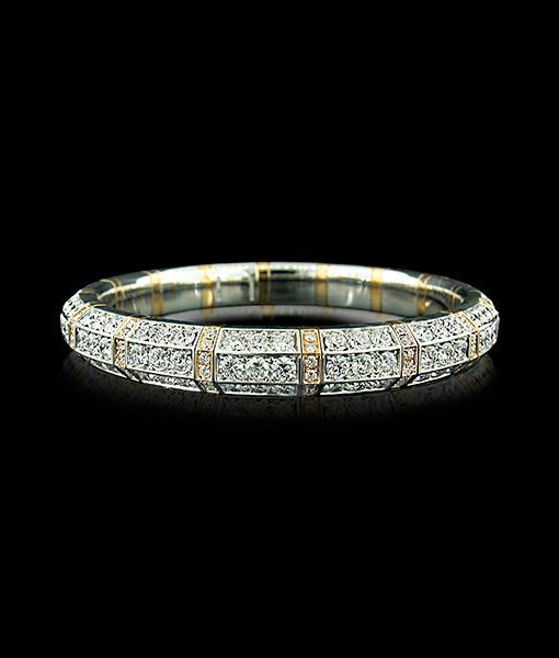 Picchiotti Expandible Diamond Bangle Bracelet