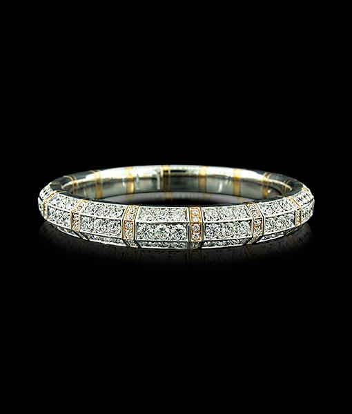 Picchiotti Expandible Diamond Bangle Bracelet