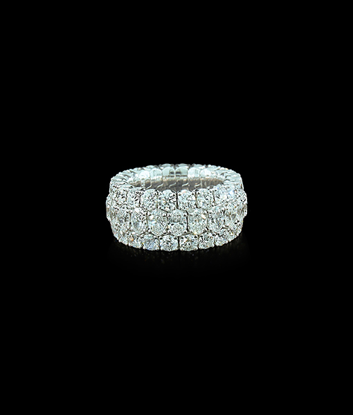 Picchiotti 'Xpandable' Round Cut Diamond Ring